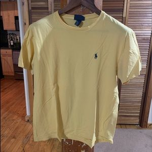 Light Yellow Polo Tee